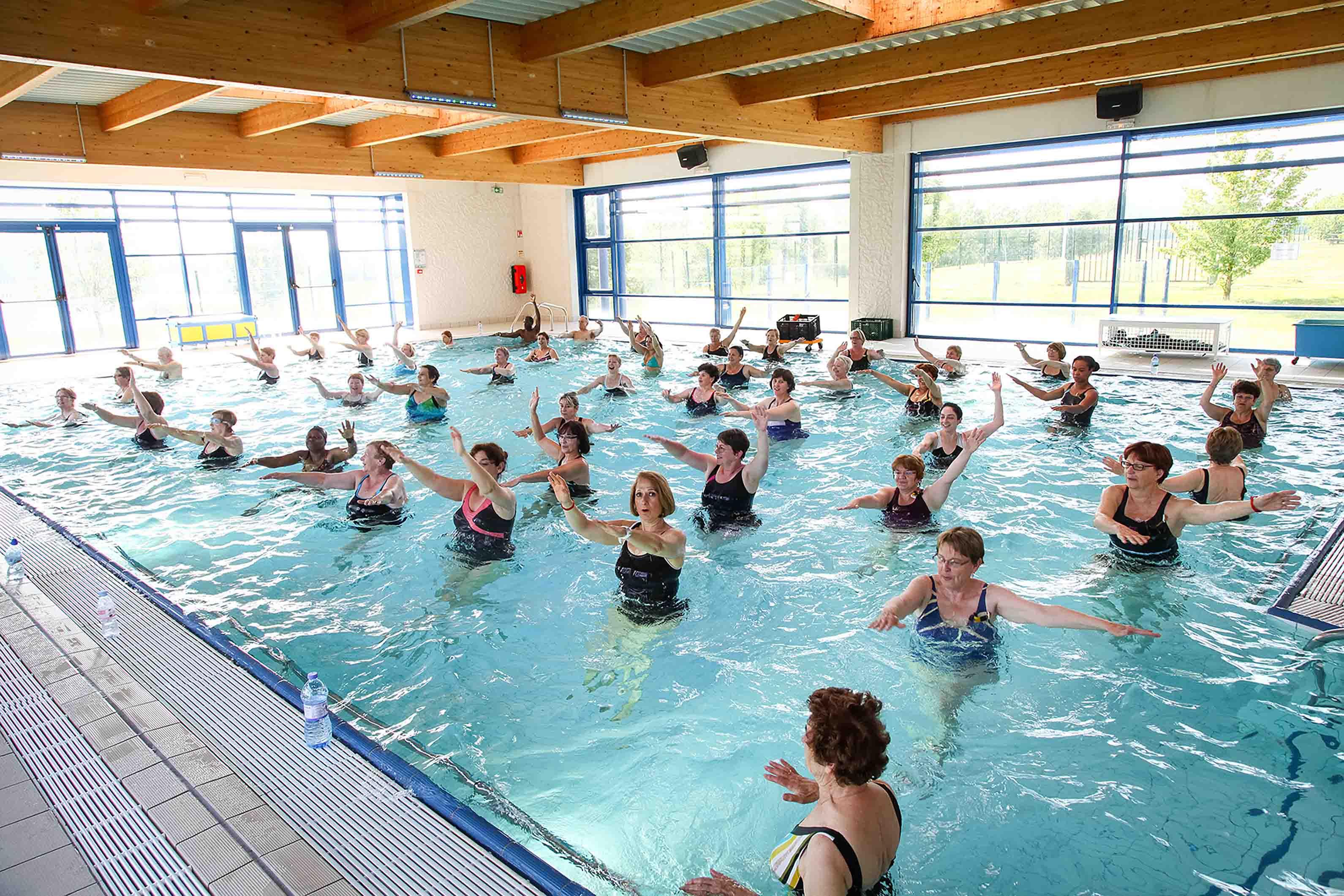 Aqua gym for Piscine blomet aquagym